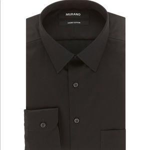 Murano Liquid Cotton Slim-Fit Dress Shirt